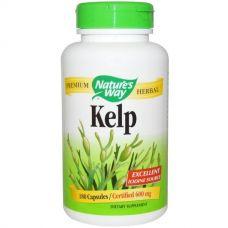 Бурые водоросли, 600 мг, 180 капсул