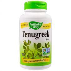 Пажитник, Fenugreek, 610 мг, 180 капсул