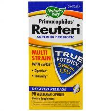 Пробиотики Primadophilus Reuteri, 90 капсул