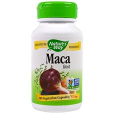 Корень мака, 525 мг, 100 капсул