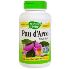 Кора муравьиного дерева Pau d'Arco, 545 мг, 180 капсул