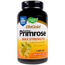 Масло вечерней примулы, 1300 мг, 120 таблеток