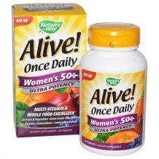 Витамины для женщин 50+ Alive!, 60 таблеток