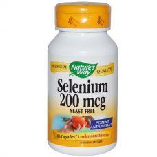 Селен, 200 мкг, 100 капсул
