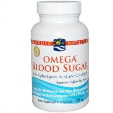 Омега для поддержания уровня сахара в крови, 1000 мг, 60 капсул