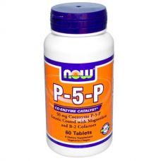 Магний и витамин В6, Пиридоксальфосфат, 50 мг, 60 таблеток