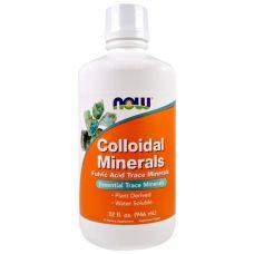 Коллоидные минералы, 946 мл от Now Foods