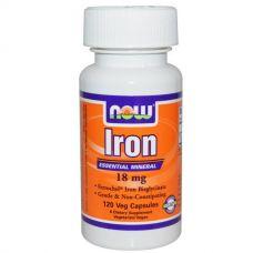 Железо,18 мг, 120 капсул