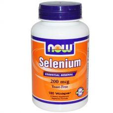 Селен, не содержит дрожжи, 200 мкг, 180 капсул
