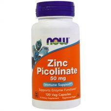 Цинк пиколинат (Zinc Picolinate), 50 мг, 120 капсул