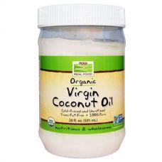 Органическое натуральное кокосовое масло, 591 мл