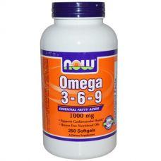 Омега 3-6-9, 1000 мг, 250 капсул