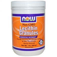 Лецитин в гранулах, без ГМО, 454 г