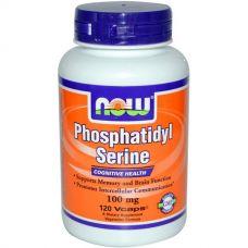 Фосфатидилсерин, 100 мг, 120 капсул