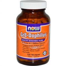 Пробиотики Gr8-дофилус, 120 капсул