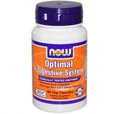 Пищеварительные ферменты Optimal Digestive System, 90 капсул