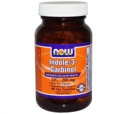 Индол-3-карбинол, 200 мг, 60 капсул