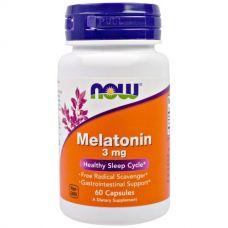 Мелатонин, 3 мг, 60 капсул