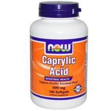 Каприловая кислота, 100 мягких капсул