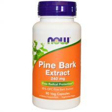 Экстракт сосновой коры, 240 мг, 90 капсул