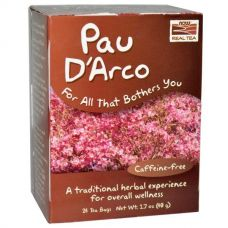 Настоящий чай из коры муравьиного дерева, без кофеина, 24 пакетика, 48 г