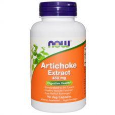 Экстракт артишока, 450 мг, 90 капсул