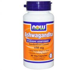 Ашваганда, 450 мг, 90 капсул