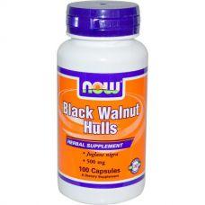 Черный орех, 500 мг, 100 капсул