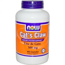 Кошачий коготь, 500 мг, 250 капсул