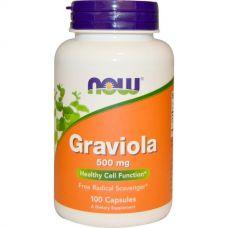 Гравиола, 500 мг, 100 капсул