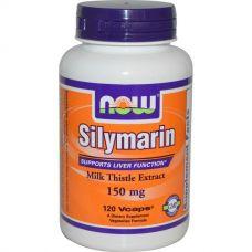 Силимарин, экстракт расторопши пятнистой, 150 мг, 120 капсул