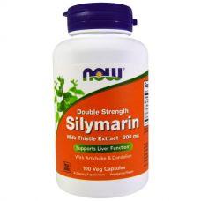 Силимарин, экстракт расторопши пятнистой, 300 мг, 100 капсул