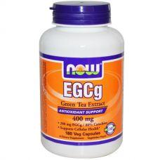 ЭГКГ, экстракт зеленого чая, 400 мг, 180 капсул