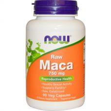 Мака, сырая, 750 мг, 90 капсул