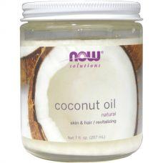 Кокосовое масло, натуральное, 207 мл