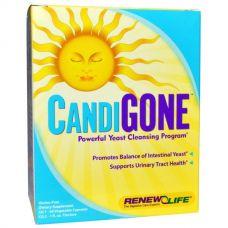 Очищение от грибков CandiGone, 60 капсул и настойка 29 мл