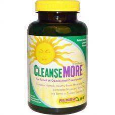 Средство от запора CleanseMore, 100 капсул