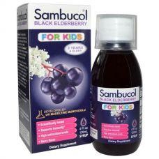 Черная бузина, сироп для детей, 120 мл