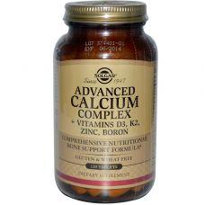 Комплекс кальция с витаминами D3, К2, Цинк, Бор, 120 таблеток