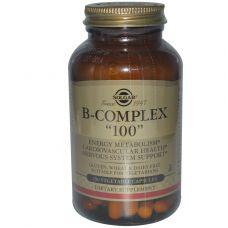 Комплекс витаминов группы B 100, 100 капсул
