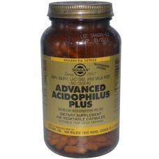 Пробиотики, Улучшенный Ацидофилин Плюс, 240 Капсул