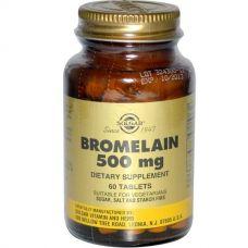 Бромелайн, 500 мг, 60 таблеток
