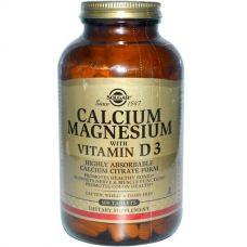 Кальций и магний с витамином D3, 300 таблеток