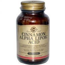 Альфа-липоевая кислота с корицей, 60 таблеток