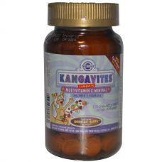 Витамины для детей Kangavites, с ягодным вкусом, 120  таблеток