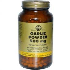 Порошок чеснока, 500 мг, 180 капсул