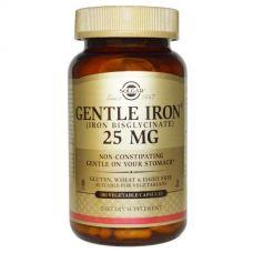 Железо, 25 мг, 180 капсул