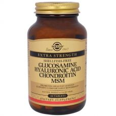 Глюкозамин гиалуроновая кислота хондроитин MSM, 60 таблеток
