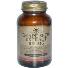 Экстракт семян винограда, 100 мг, 60 капсул