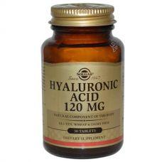 Гиалуроновая кислота, 120 мг., 30 таблеток от Solgar